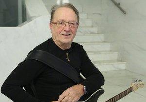 Rocker Petr Janda z kapely Olympic