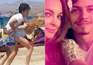 Vypadalo to  jako pohádková láska. Ve skutečnosti ale Lindsay Lohan její přítel fyzicky týral.