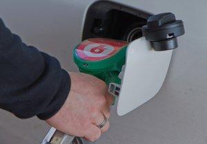 Než aby si zloděj natankoval, ukradl benzin řidičce z nádrže. (Ilustrační foto)