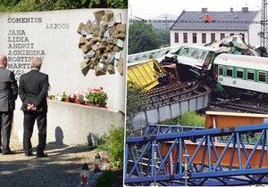 Prokleté osmičky: Pláč, křik a krev, svědci vzpomínají na tragické vlakové neštěstí u Studénky.