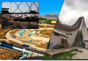Po olympijských hrách někdy zbydou jen chátrající areály.