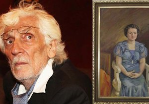 Petr Hapka a jeho obraz