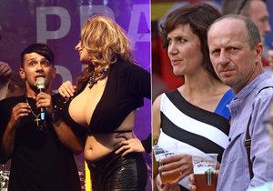 Slavné tváře na zahájení festivalu Prague Pride