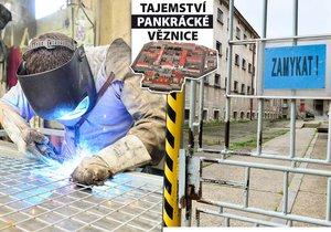 Vězni na Pankráci vyrábějí kovové předměty. To je hlavní náplň jejich dne.