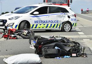 Smutnou práci mají policisté z Rybí na Novojičínsku. Vyšetřují tragickou nehodu, při které zemřel jeden z nich – dopravní policista (†32). Ilustrační foto