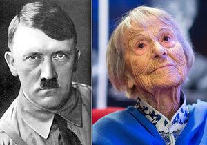 Brunhilde Pomsel prozradila to, jak Adolf Hitler holdoval alkoholu.