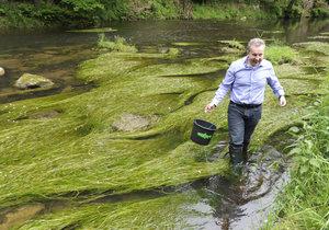 Ministr životního prostředí Richard Brabec (ANO)