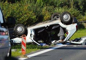 Na silnicích zemřelo minulý týden 22 lidí.