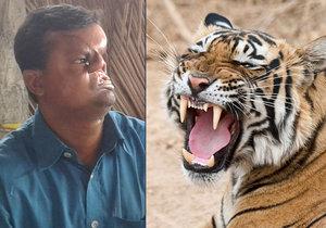 Rybáři Hashmotovi Alimu z Bangladéše sežral půlku hlavy tygr. Teď muž poprvé ukázal svoji zle znetvořenou tvář.