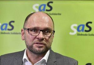 Richard Sulík je šéfem strany Svoboda a Solidarita.