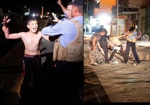 Chlapce zachránili policisté. Odhalili, že má na těle bombu.