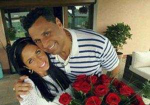Marie se svým přítelem Vladimírem Růžičkou