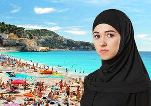 Francouzští policisté na pláži: Přinutili muslimku, aby se svlékla.
