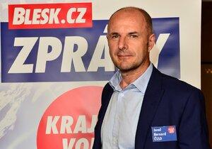 ČSSD sáhla po neokoukané tváři, podnikateli Josefu Bernardovi. Ten by mohl nahradit v čele kraje Václava Šlajse (ČSSD).