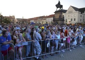 Takto to vypadalo na Soundtrack festivalu v Poděbradech!