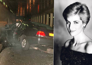 Princezna Diana zahynula 31. srpna 1997 na následky zranění po autonehodě.