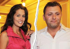 Petra Faltýnová a Simon Štekl se rozvedli! Po osmi letech...