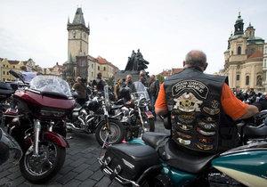 Na oslavy Harley-Davidson chce Praha dát pět milionů. (Ilustrační foto)