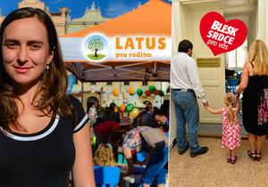 Jana Kocourková ze společnosti Latus: Pomáhá dětem najít nové rodiny!