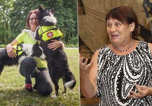 Ombudsmanka Šabatová navrhuje zákon, který by upravil problematiku asistenčních psů.