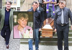 Pohřeb Štaidlovy kamarádky Zdenky Šustové