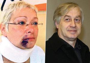 Josef Rychtář byl znovu soudem vykázaný z domu v Říčanech, kde žije jeho exmanželka Darina Nová.