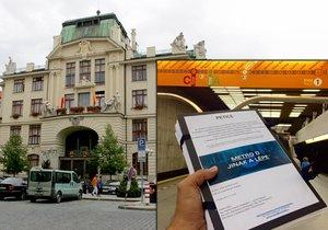 Iniciativa ve středu kolem poledne přinesla petici na pražský magistrát. Metro D by se mělo projednávat na zasedání zastupitelstva 15. září.