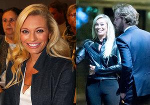 Lucie Borhyová si založila se svým přítelem firmu.