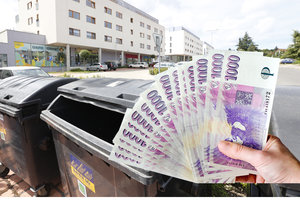 Muž možná bude muset doplatit několik tisíc za odpad z doby, kdy byl v emigraci.