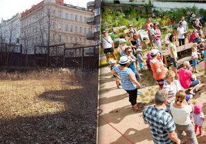 Ze zanedbaného místa se stal prostor pro setkávání s občany i pěstování plodin. Teď mu hrozí zánik.