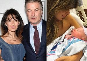 Hilaria Baldwin porodila syna.