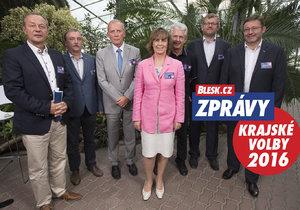 Lídři stran Olomouckého kraje debatovali o krajském dluhu.