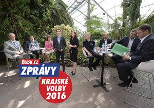 Lídři Olomoucka o tématech, která by jim mohla uškodit při volbách.