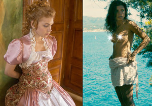 Princezna z Řachandy Denisa Pfauserová se ve filmu Prázdniny v Provence pěkně rozdováděla.