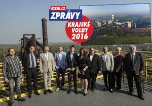 Lídři Moravskoslezského kraje debatovali o OKD.