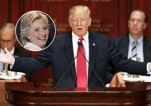 Zatímco Hillary Clintonová se vzpamatovává z kolapsu, zdraví Donalda Trumpa je prý excelentní