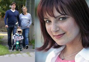 5letý syn zesnulé herečky Dřízhalové ví, že je adoptovaný.