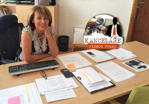 Navštívili jsme kancelář primátorky Adriany Krnáčové.