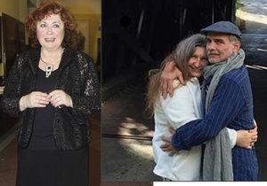 Naďa Konvalinková má s exmanželem Oldou Kaiserem skvělý vztah.