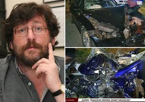 Sexuolog Weiss způsobil vážnou nehodu na Pelhřimovsku