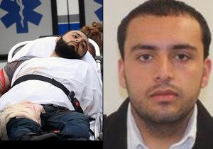 Terorista Ahmad Rahami stanul u soudu v roce 2014 kvůli napadení bratra.