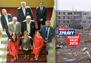 Vláda prý Ústecký kraj, kde je nejvyšší nezaměstnanost v Česku, zanedbává. Shodli se na tom kandidáti na hejtmanský post napříč stranami.