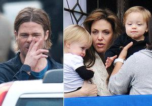 Brad Pitt byl Angelinou Jolie obviněn z toho, že nasává a ztrácí nad sebou kontrolu. To ho  rozběsnilo.