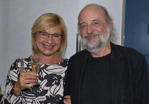 Jana Paulová s manželem Milanem Svobodou
