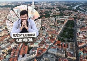 """Architekt Petr Kučera odhaluje, jak vznikly názvy """"pražských měst""""."""