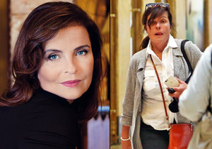 Jana Krausová už se nelíčí, po Praze běhá bez make-upu.