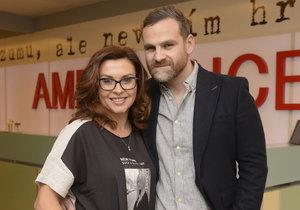 Ján Jackuliak se svou seriálovou přítelkyní Danou Morávkovou