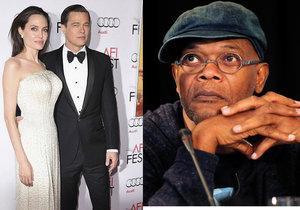 Samuel L. Jackson promluvil o rozpadu manželství Jolie a Pitta.