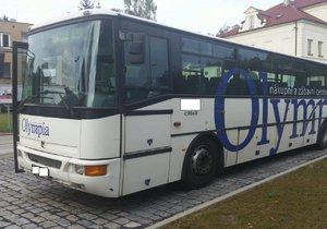 S autobusem odjel až na Kladensko.