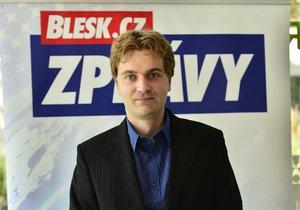 Debata Blesku v Hradci Králové: Martin Hanousek (Strana zelených, Piráti a Změna)